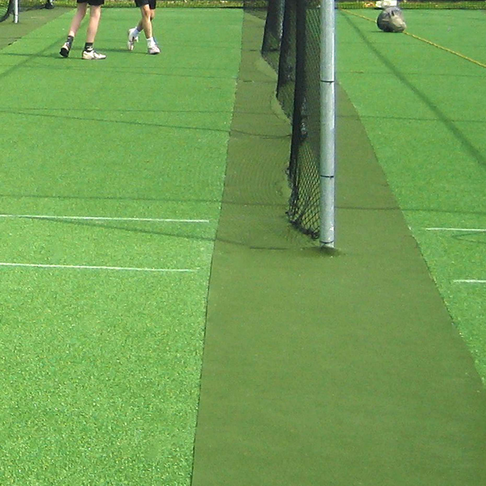 run-up/surround cricket matting />